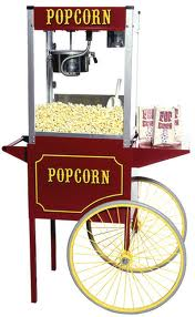 Where to find Popcorn Unit - Wagon-Style  Large in Iowa City