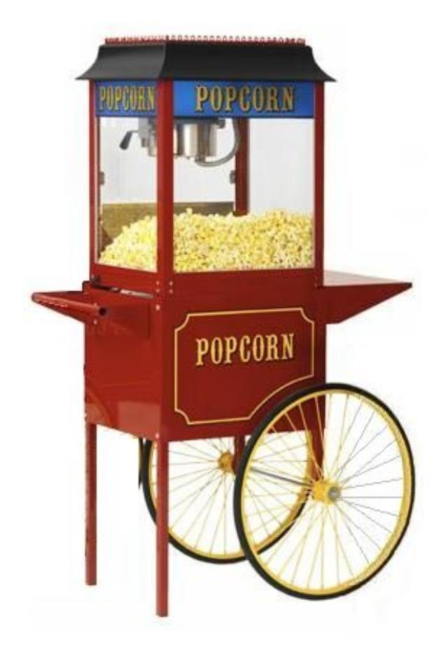 Where to find Popcorn Unit - Wagon  Medium in Iowa City