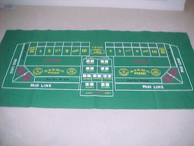 Where to find Craps Layout in Iowa City