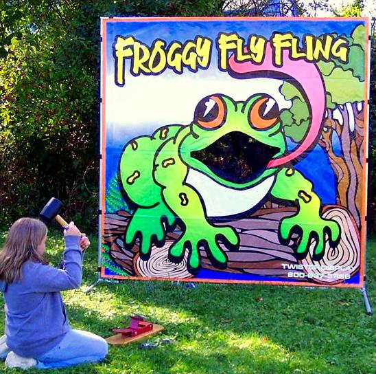 Where to find Froggy Fly Fling Game in Iowa City