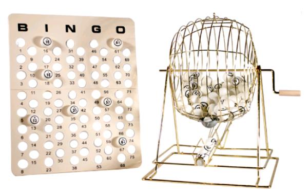 Where to find Bingo Set - Large in Iowa City