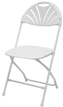 Where to find White Fanback Chair in Iowa City