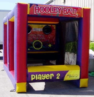 Where to find Inflatable Game - Hooley Ball in Iowa City