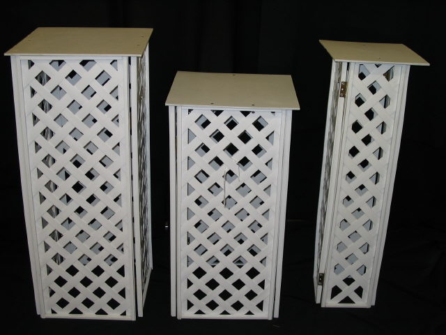 Where to find Lattice 12  Square Top 36  Tall Stand in Iowa City