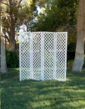 Where to rent White Lattice Screen 4 Section in Iowa City IA