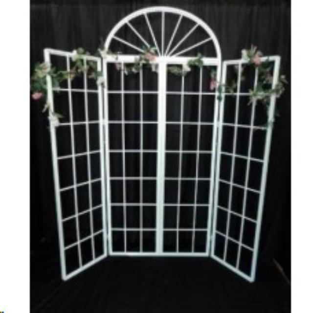 Where to find White French Door Screen W Sides in Iowa City