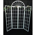 Where to rent White French Door Screen W Sides in Iowa City IA