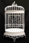 Where to rent Small Round Ivory Metal Cage Card Holder in Iowa City IA