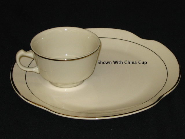 Where to find Ivory 9  China Snackset Plate  dozen in Iowa City