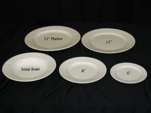 Where to find Platter - White China 12   each in Iowa City