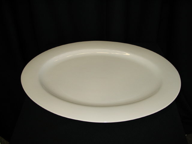 Where to find Platter - White China 18  Oval  each in Iowa City