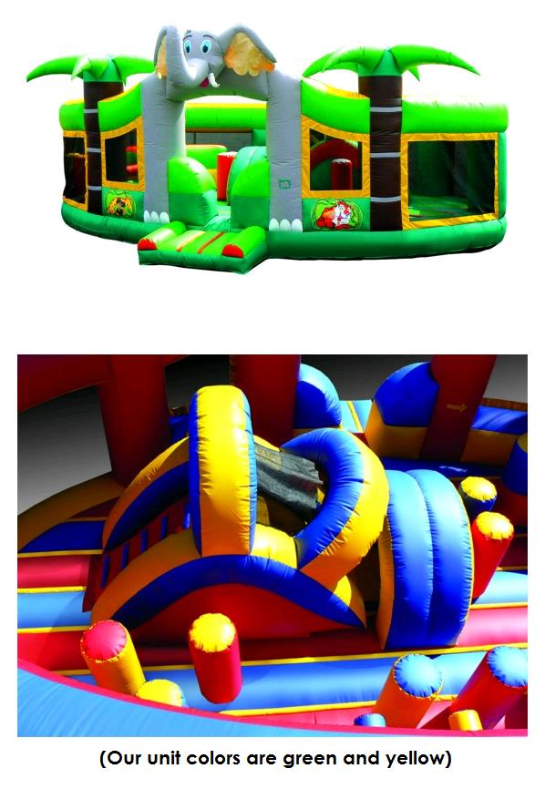 Where to find Inflatable - Jungle Play Center in Iowa City