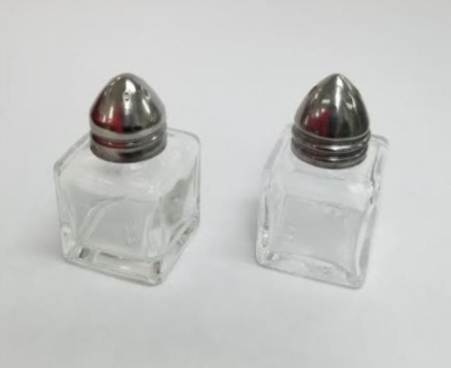 Where to find Glass Salt   Pepper Set  Mini  Square in Iowa City