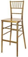 Where to rent Gold Chiavari Ballroom Barstool in Iowa City IA
