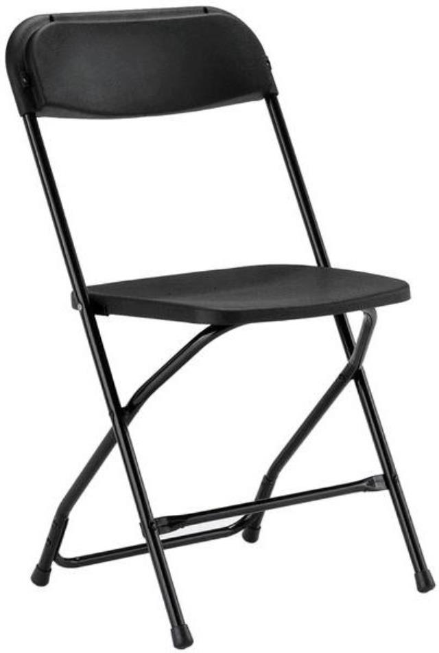 Where to find Black Standard Folding Chair in Iowa City