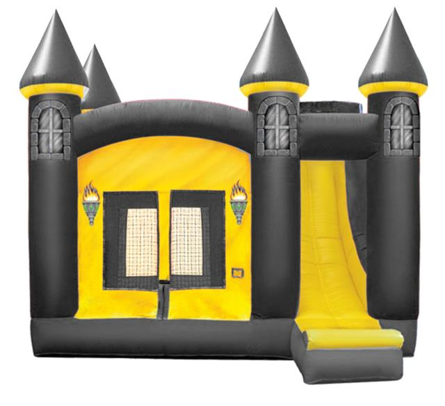 Where to find Inflatable Combo - Black Gold Castle in Iowa City