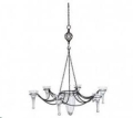 Where to rent Black Hanging Chandelier w 6 Cups in Iowa City IA