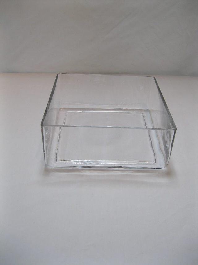 10 Inch X10 Inch Square 4 Inch Tall Cube Vase Rentals Iowa City Ia