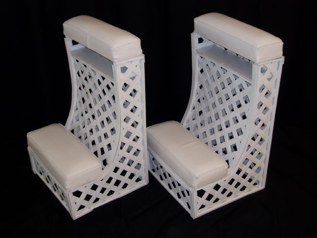 Where to find Lattice Kneeling Bench  pair in Iowa City