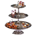 Where to rent 3 Tier Silver Cupcake Dessert Stand in Iowa City IA