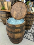 Where to rent Oak Whiskey Barrel  Drink Server in Iowa City IA