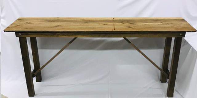 Where to find 2ftx8f Rustic Farm Bar Height Table in Iowa City