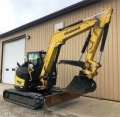 Where to rent Yanmar 80 Excavator w thumb in Iowa City IA