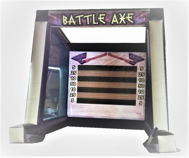 Where to find Inflatable - Battle Axe Game in Iowa City