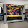 Where to rent Inflatable - Knock It Off Game in Iowa City IA