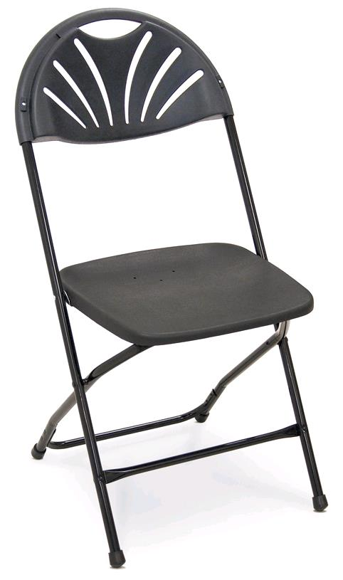 Where to find Black Fanback Chair in Iowa City