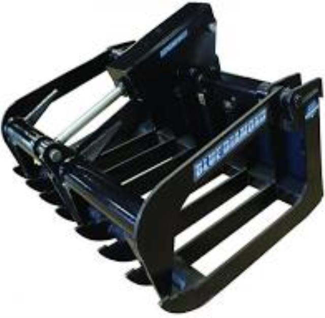 Where to find Grapple Bucket - Mini Skid 36  1 BlueDia in Iowa City
