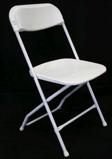 Where to find White Folding Chair in Iowa City