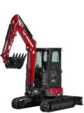 Where to rent Yanmar 35 Mini Hoe  2 W Thumb 24  Bucket in Iowa City IA