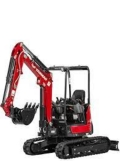 Where to rent Yanmar 25 Mini Hoe 18  bucket in Iowa City IA