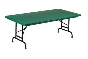 Where to find Kids Table - Green 6ft Plastic in Iowa City