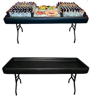 Where to find 6ft Black Chiller Table w plug in Iowa City