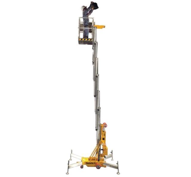 push 33 foot haulotte qu33 lift 110v rentals iowa city ia  where to rent push 33 foot haulotte